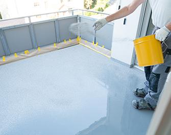balcony floor restoration resin glue coating